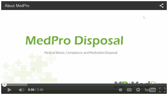 MedPro Overview Video Screen Shot